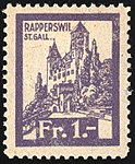 Switzerland Rapperswil 1920 revenue 3 1Fr - 37.jpg
