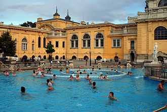 Spa - A thermal spa in Budapest, Hungary