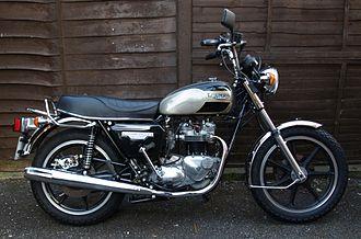 Triumph Bonneville - 1980 T140E Bonneville
