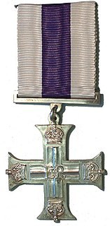 Military Cross third-level military decoration of the British Armed Forces, Commonwealth officers