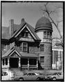 TOWER AT SOUTHEAST CORNER - George Schleier Mansion, 1665 Grant Street, Denver, Denver County, CO HABS COLO,16-DENV,14-7.tif
