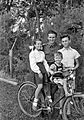 Tableau, bicycle, kids Fortepan 20236.jpg