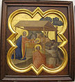 Taddeo gaddi, storie di cristo e di s. francesco (armadio di s. croce), 1335-40 ca. 04 natività.JPG