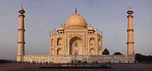 Indo-Islamic architecture - The Taj Mahal in Agra.