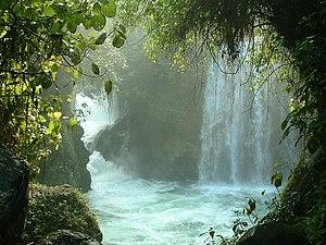 La Huasteca - Tamasopo waterfall in San Luis Potosí.