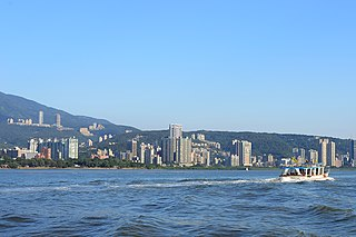 Tamsui District District in Taiwan