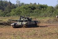 Tank T72M4CZ moderna