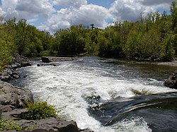 The Farmington River in Simsbury