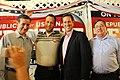 Ted Cruz, Rick Santorum, and Congressman Michael Burgess (7742710840).jpg