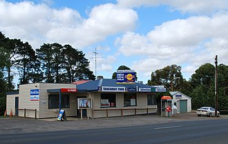 Teesdale, Victoria - General store and post office