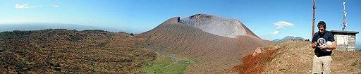 Telica volcano in Nicaragua