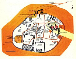 Tell Megiddo 2006 Preservation tourist map.jpg
