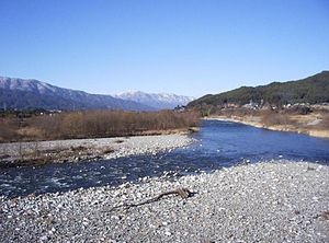 Tenryū River - Tenryū river, upper reaches.