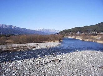 Tenryū River - Tenryū river, upper reaches.
