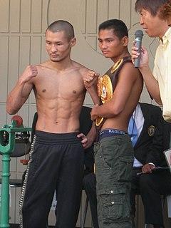 Tepparith Singwancha Thai boxer