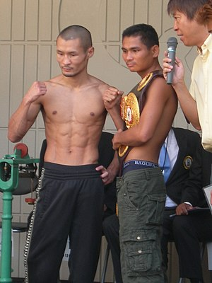 Tepparith Singwancha - Tepparith (right) with Nobuo Nashiro on August 31, 2012