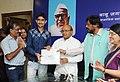 "Thaawar Chand Gehlot conferred the prizes to the winners of ""Babu Jagjivan Ram All India Essay Competition 2015"", organised by the Babu Jagjivan Ram National Foundation (BJNRF), in New Delhi (1).jpg"
