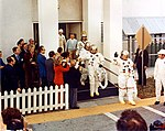 The Apollo 14 crew walkout on launch day.jpg
