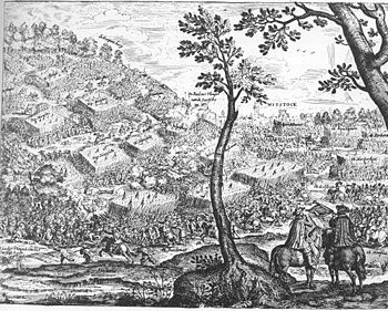 Battle of Wittstock (contemporary copper engraving)