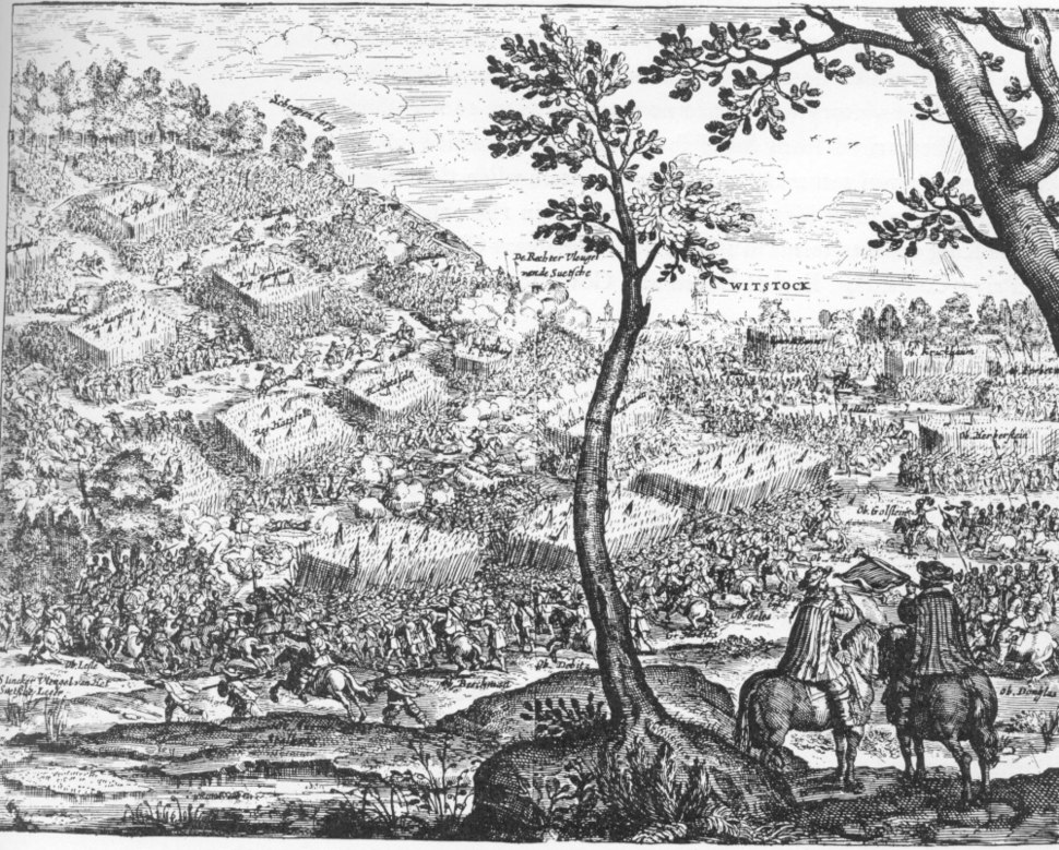 The Battle of Wittstock 1636