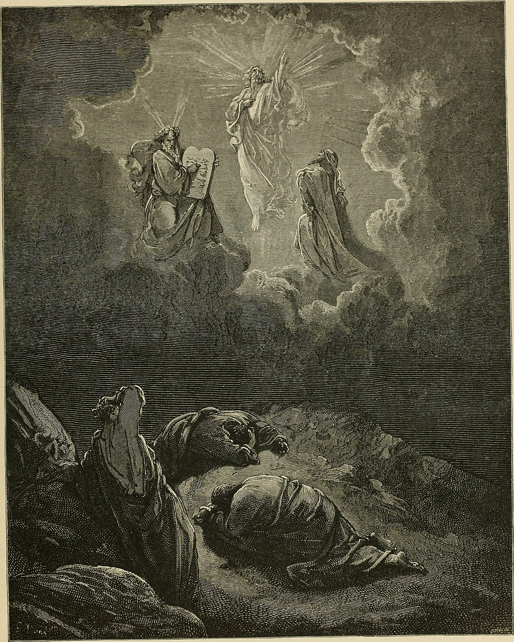 예수님의 영광스러운 변모 (귀스타브 도레, Gustave Dore, 1865년)