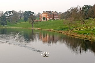 Brocket Hall - The Broadwater and Brocket Hall, March 2011