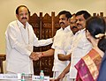 The Chief Minister of Tamil Nadu, Shri Edappadi K. Palaniswami calls on the Union Minister for Urban Development, Housing & Urban Poverty Alleviation and Information & Broadcasting, Shri M. Venkaiah Naidu, in New Delhi (1).jpg