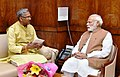 The Chief Minister of Uttarakhand, Shri Trivendra Singh Rawat calls on the Prime Minister, Shri Narendra Modi, in New Delhi on March 22, 2017 (1).jpg