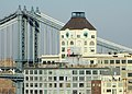 The Clocktower and the Manhattan Bridge from 15 Clark Street.jpg