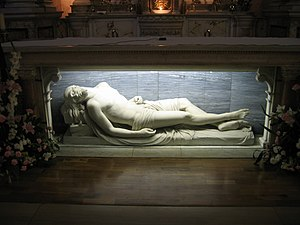 The Dead Christ - Image: The Dead Christ St. teresa's Dublin