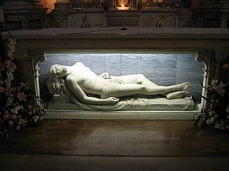 The Dead Christ - Image: The Dead Christ St. teresa's Dublin