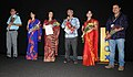"""The Director of the film """"BHANDHON-Waves of Silence (Assamese), Jahnu Barua, addressing at the inauguration of Indian Panorama-Feature Film, before the screening of the film.jpg"""