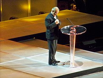 Ricky Steamboat - Steamboat at the 2009 WWE Hall of Fame induction ceremony