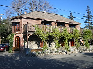 The French Laundry restaurant in Yountville, California