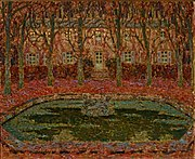 The Garden of the Gerberoy House by Henri Le Sidaner.jpg