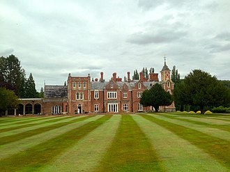 The Hendre - Image: The Hendre from main lawn