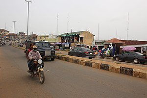 The Highway of the City of Ado-Ekiti in Ekiti State, Nigeria.jpg