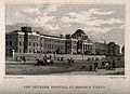 The Hospital of Bethlem (Bedlam), St. George's Fields, Lambe Wellcome V0013729.jpg