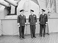 The King Pays 4-day Visit To the Home Fleet. 20 March 1943, Scapa Flow, Wearing the Uniform of An Admiral of the Fleet, the King Paid a 4-day Visit To the Home Fleet. A15246.jpg