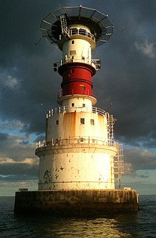 Lighthouses In Ireland Map.Kish Bank Wikipedia