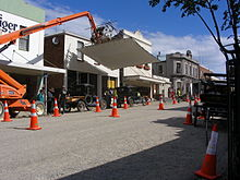 The Light Between Oceans (film) location, George Street.JPG