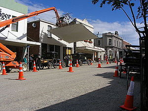 The Light Between Oceans (film) - The Light Between Oceans film location, George Street, Port Chalmers, New Zealand