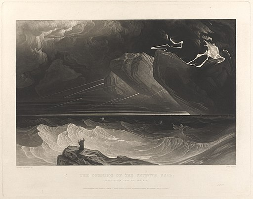 The Opening of the Seventh Seal by John Martin