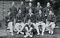 The Oxford Cricket Team (with RL Holdsworth), 1922.jpg