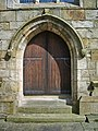 The Parish Church of St Peter, Burnley, Doorway - geograph.org.uk - 763771.jpg