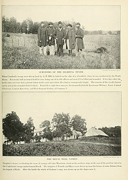 """Survivors of the Fighting Tenth"" (from the Photographic History of The Civil War)"