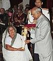 The President, Shri Ram Nath Kovind presenting the Padma Shri Award to Smt. Subasini Mistry, at the Civil Investiture Ceremony, at Rashtrapati Bhavan, in New Delhi on March 20, 2018.jpg