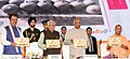 The President, Shri Ram Nath Kovind releasing a publication at the inauguration of the 'One District One Product' Summit, at Lucknow, in Uttar Pradesh.JPG