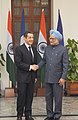 The Prime Minister, Dr. Manmohan Singh meeting the President of France, Mr. Nicolas Sarkozy, in New Delhi on December 06, 2010 (1).jpg