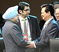 The Prime Minister, Dr. Manmohan Singh meeting the Prime Minister of Vietnam, Mr. Nguyen Tan Dung on the sidelines of the Nuclear Security Summit, in Seoul on March 27, 2012 (1).jpg